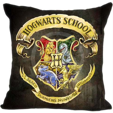 Harry Potter Hogwarts Crest Pillow