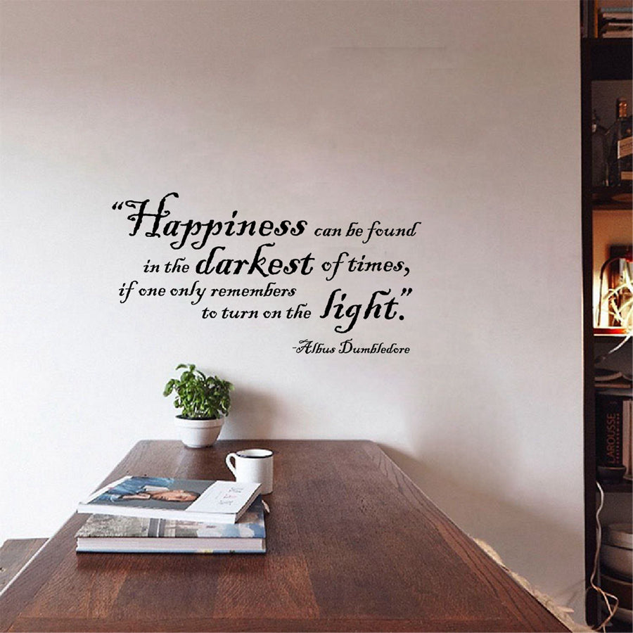Harry Potter Quote Wall Art