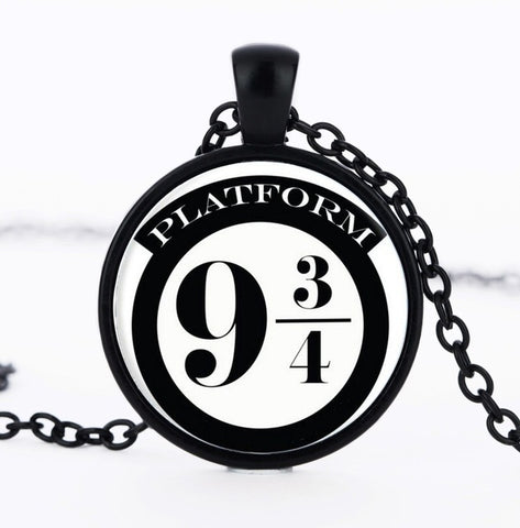 Hogwart Express Pendant Necklace
