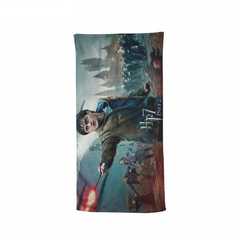 Harry Potter HP7 Beach Bath Towel
