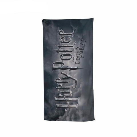 Harry Potter The Deathly Hallows Beach Bath Towel