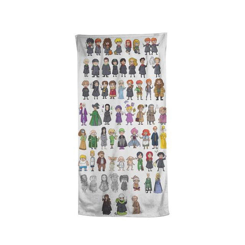 Harry Potter Characters Beach Bath Towel