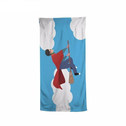 Harry Potter Quidditch Beach Bath Towel