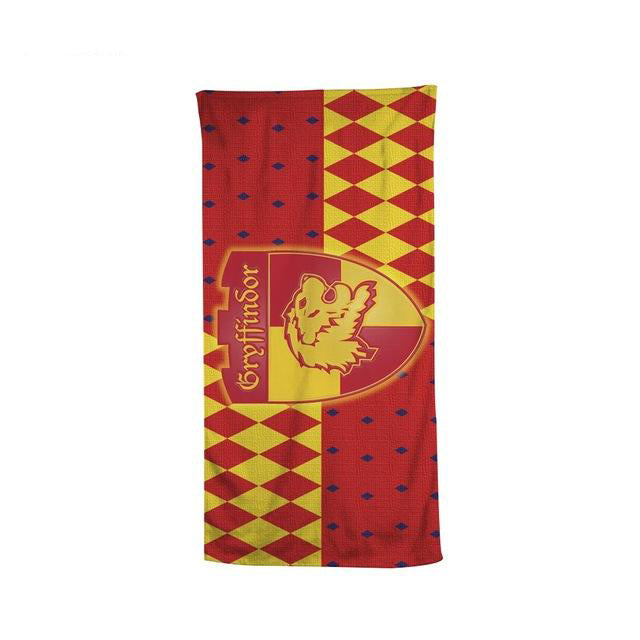 Gryffindor Beach Bath Towel