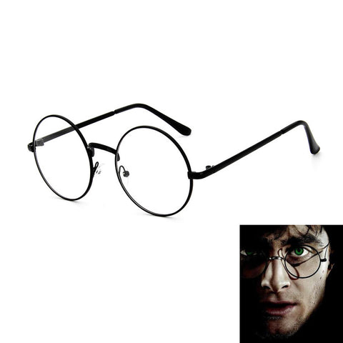 Harry Potter Cosplay Round Frame Glasses