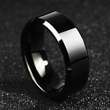 Mens All-Black Ring