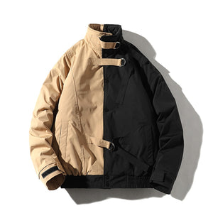 Split High Neck Jacket