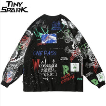Graffiti Loose Long Sleeve