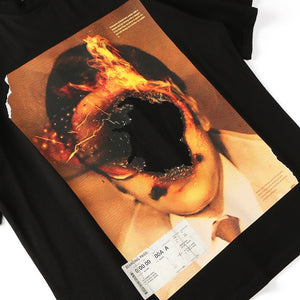 Burned Hole Tee Shirt