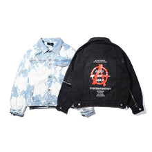 Acid Wash Anarchy Jacket