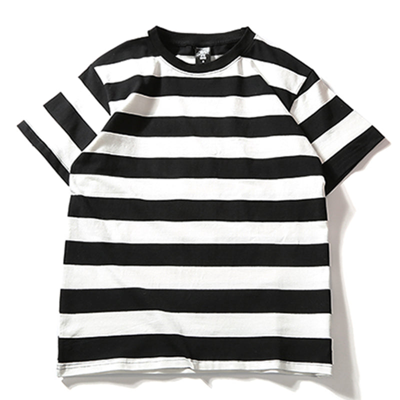 Thick Striped Tee