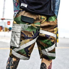 Patched Board Shorts