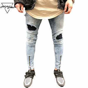 Mens Washed Super Skinnys
