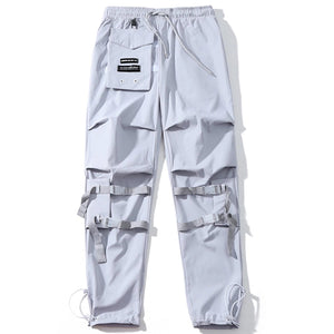 Knee Buckled Cargo Pants