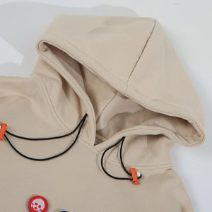 Picture Patched Hoodie