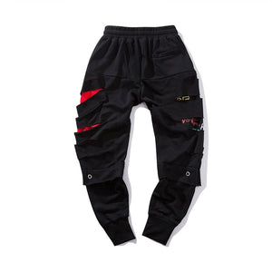 Slashed Jogger Sweatpants