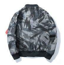 Wooded Army Camo Bomber