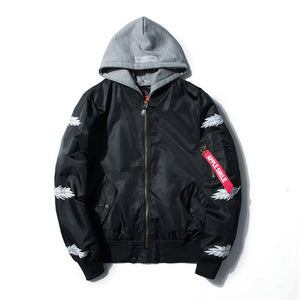 Hooded Feather Bomber
