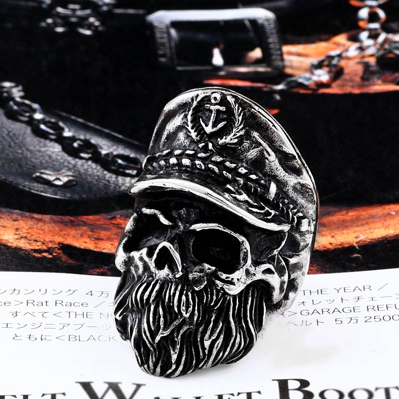 Bearded Sailor Ring