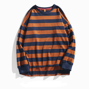 Wide Striped Long Sleeve