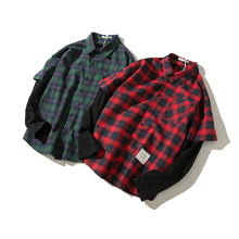 Two-Piece Flannel Shirt