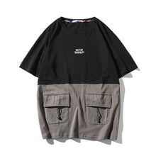 Two-Tone Pocket Tee