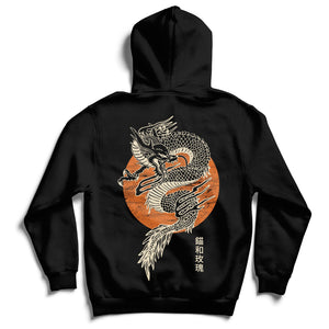 Anchor & Rose Chinese Dragon Hoodie