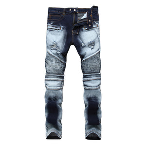 Midnight Biker Denim