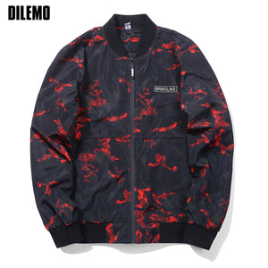 European Camouflage Windbreaker