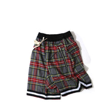 Plaid Bag Pipe Shorts