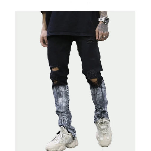 Shin Washed Skinny Jeans
