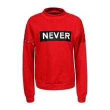 NO/Never Sweatshirt