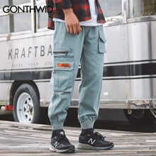 Side Labeled Cargo Pants