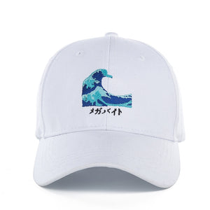Japanese Waves Cap