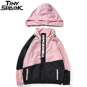 Retro Color Windbreaker