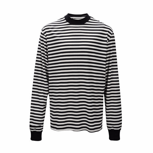 Striped Collar Long Sleeve