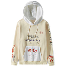 Soda Water Labeled Hoodie