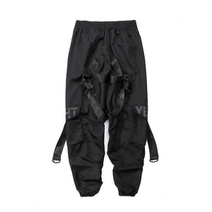 Buckle Strapped Flight Pants