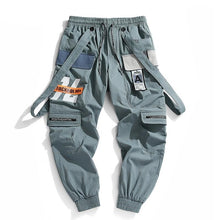 Shoulder Strap Attached Joggers
