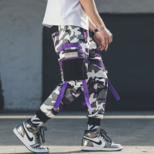 Camo Strapped Hanging Pants