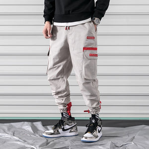Hip Labeled Cargo Pants