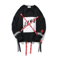 Ribbon Strapped Sweatshirt