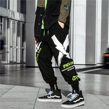 Neon Dashed Sweatpants