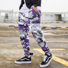 Camouflage Cargo Street Pants