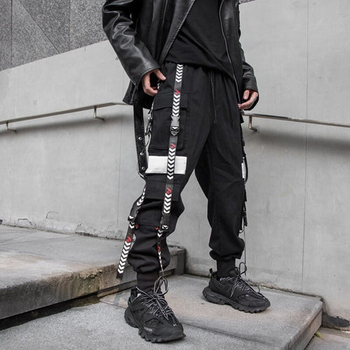 Arrow Dashed & Buckled Joggers