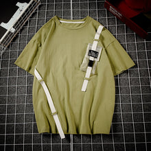 Chest Pocket Strapped Tee