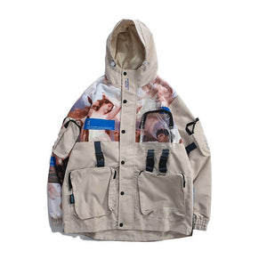 Patched Pocket Angels Jacket