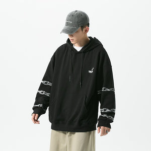 Chain Banded Hoodie