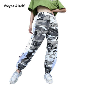 Side Split Camo Pants