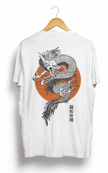 Anchor & Rose Chinese Dragon Tee